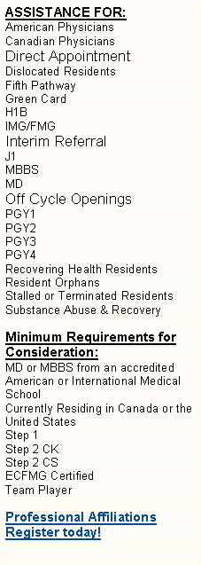 Text Box: ASSISTANCE FOR: 